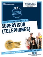 Supervisor (Telephones)