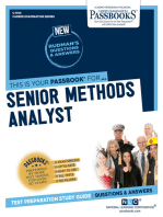 Senior Methods Analyst
