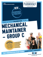 Mechanical Maintainer – Group C
