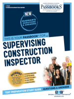 Supervising Construction Inspector