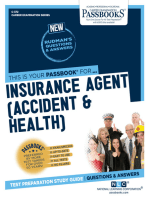 Insurance Agent (Accident & Health)