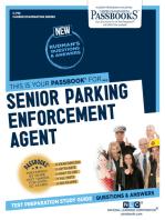 Senior Parking Enforcement Agent