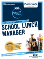 School Lunch Manager