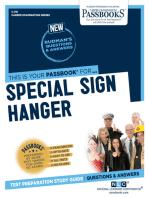 Special Sign Hanger