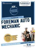 Foreman Auto Mechanic