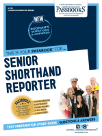 Senior Shorthand Reporter