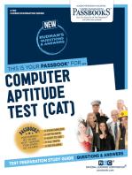 Computer Aptitude Test (CAT)
