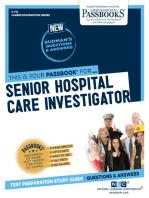Senior Hospital Care Investigator