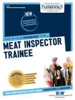 Meat Inspector Trainee