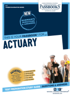 Actuary: Passbooks Study Guide