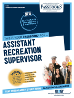 Assistant Recreation Supervisor