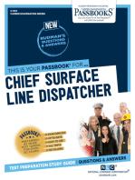 Chief Surface Line Dispatcher