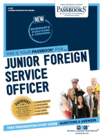Junior Foreign Service Officer
