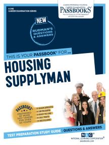 Housing Supplyman: Passbooks Study Guide