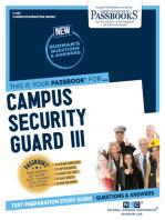 Campus Security Guard III