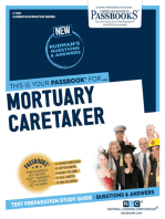 Mortuary Caretaker