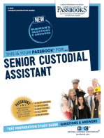 Senior Custodial Assistant