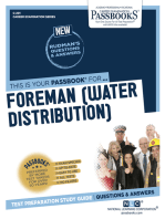 Foreman (Water Distribution)