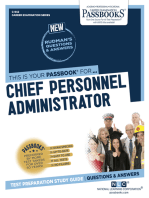 Chief Personnel Administrator
