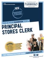 Principal Stores Clerk