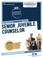 Senior Juvenile Counselor