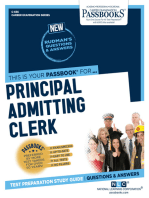 Principal Admitting Clerk