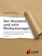 Der Vorstand und sein Risikomanager