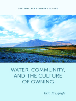 Water, Community, and the Culture of Owning
