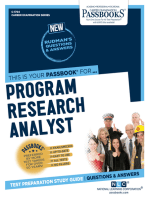 Program Research Analyst