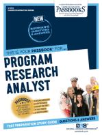 Program Research Analyst