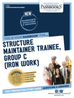 Structure Maintainer Trainee, Group C (Iron Work)