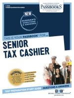 Senior Tax Cashier