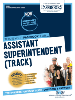 Assistant Superintendent (Track)