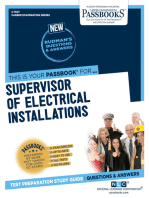 Supervisor of Electrical Installations