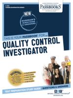 Quality Control Investigator