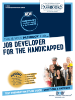 Job Developer for the Handicapped