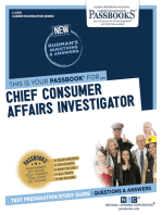 Chief Consumer Affairs Investigator
