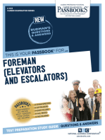 Foreman (Elevators and Escalators)