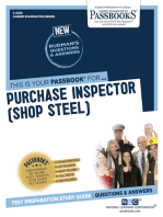Purchase Inspector (Shop Steel)