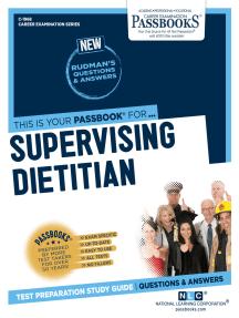 Supervising Dietitian: Passbooks Study Guide