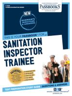 Sanitation Inspector Trainee