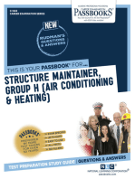 Structure Maintainer, Group H (Air Conditioning & Heating)