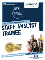 Staff Analyst Trainee