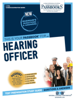 Hearing Officer