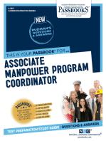 Associate Manpower Program Coordinator
