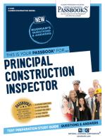Principal Construction Inspector