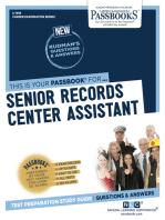Senior Records Center Assistant