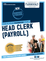Head Clerk (Payroll)