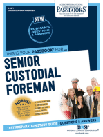 Senior Custodial Foreman