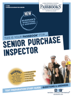 Senior Purchase Inspector